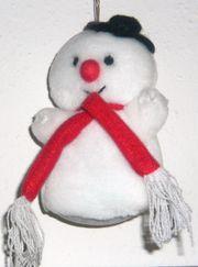 Kleiner Schneemann aus