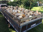 Brennholz Balken trocken 4 SRM