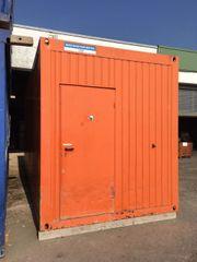 Bürocontainer Baustellenbüro Hallenbüro Container Baucontainer