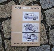 Betriebsanleitung Fiat 500