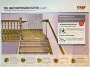 2 x Tür- und Treppenschutzgitter