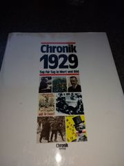Chronik 1929