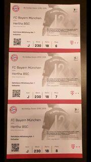 3x Bayern München gegen Hertha