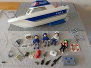 Spielzeug Playmobil Polizeiboot Polizeischiff