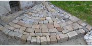 Großes Granit Pflaster