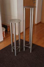 Edelstahl-Ständer 2 Stück