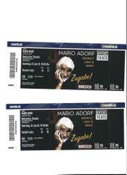 Eintrittskarten Mario Adorf