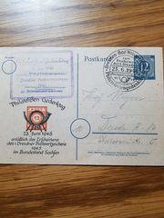 Briefmarken Postkarte