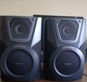 2 Panasonic Boxen