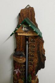 Spreewald Wandthermometer aus Holz