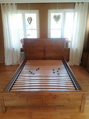 Bett mit Lattenrost zu verkaufen
