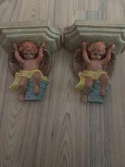 Zwei Schöne Engelputten zum hängen