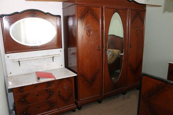 altes Schlafzimmer in Crimmitschau - Schränke, Sonstige ...