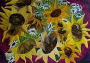 Ölgemälde 50 70 Abstrakt Blumen