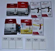 Tintenpatronen Canon für Pixma-Drucker - orginal