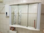 Allibert Badezimmerschrank - weiß -