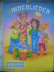 Kalender mit Kinderliedern zum Mitsingen