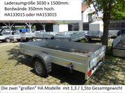 Gebrauchter Humbaur HA153015 Einachser 1