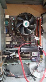 PC mit Mainboard /