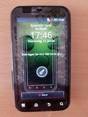 Kleines Motorola Smartphone