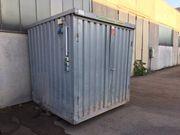 Lagercontainer verzinkt