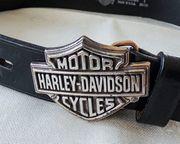 Harley Davidson Gürtel Ledergürtel