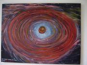 Öl- Gemälde 4U 1820-30 Neutronen-Stern