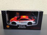 Modellauto Sammlerobjekt Shell BMW M4