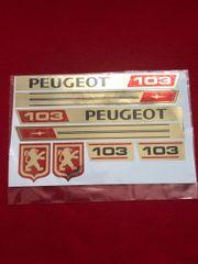 Peugeot 103 Aufkleber