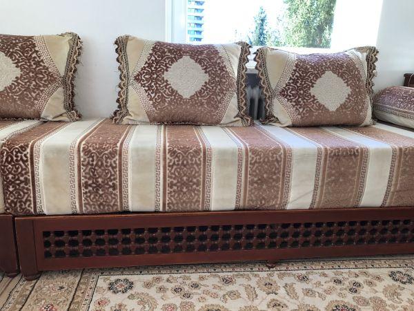 sch ne marokkanische wohnzimmersitze je 200x70 in m nchen polster sessel couch kaufen und. Black Bedroom Furniture Sets. Home Design Ideas