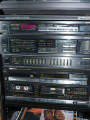 Musikanlage Pioneer mit Hifi-Turm und