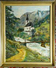 Gemälde Ölgemälde St.