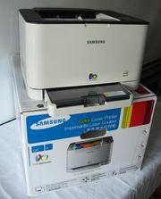 Farblaser Drucker Samsung CLP-320
