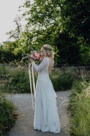 Einzigartiges Boho Brautkleid