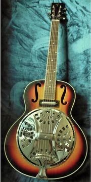 Resonator Singlecone Gitarre