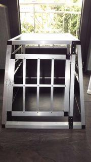 Alu Hundebox Hundetransportbox