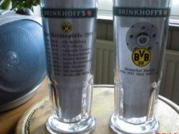 BVB 09 Dortmund Glaskrüge 1996