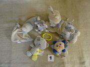 Baby - Schlafmusik - Rassel - Kuscheltiere - Spielzeug -