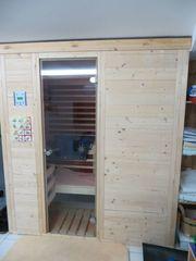 Sauna mit 3-fach-Funktion von Infraworld