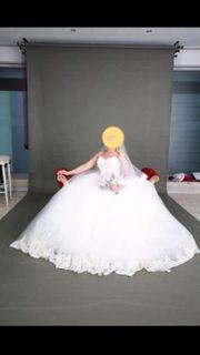 Brautkleid Prinzessinin Stil