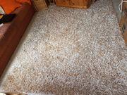 Teppich Hochflor seidig glänzend Farbe