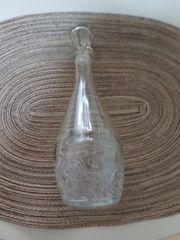 Glaskaraffe - Glasflasche 0 5 Liter