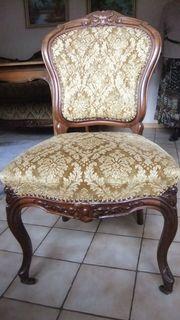 4 Antike Stühle