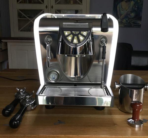 Espressomaschine -Siebträger- Simonelli Musica Lux