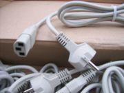 Stromkabel für PC Drucker Monitore