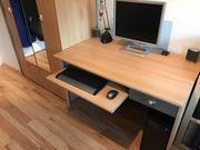 Büromöbel - Schreibtisch, Schrank,