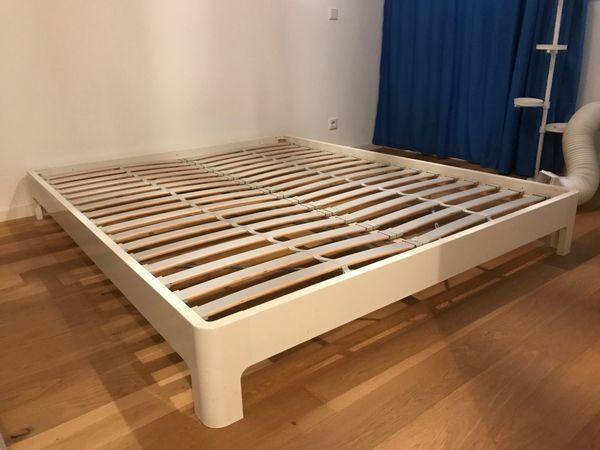 IKEA Bett Weiß 160cm Breit