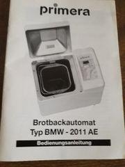 Brotbackautomat Typ BMW-