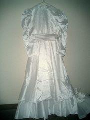 langes Kommunion-Kleid gr 140 auch