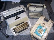 Verkauf von alten Büromaschinen